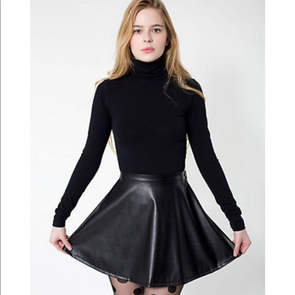 amazing selection buy online sneakers American Apparel Vegan Leather Skirt